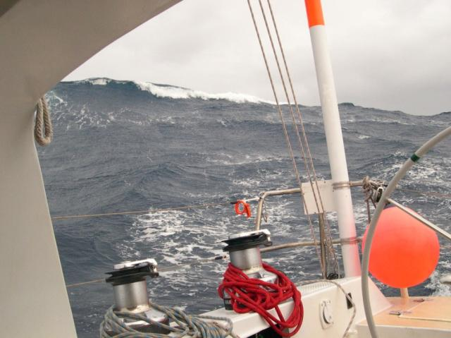 "When the weather turns most foul, we transition to ""Survival Sailing"""